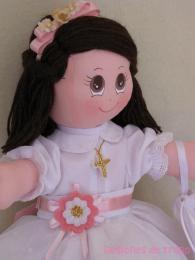 muñeca primera comunión1