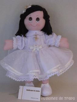 muñeca primera comunión4
